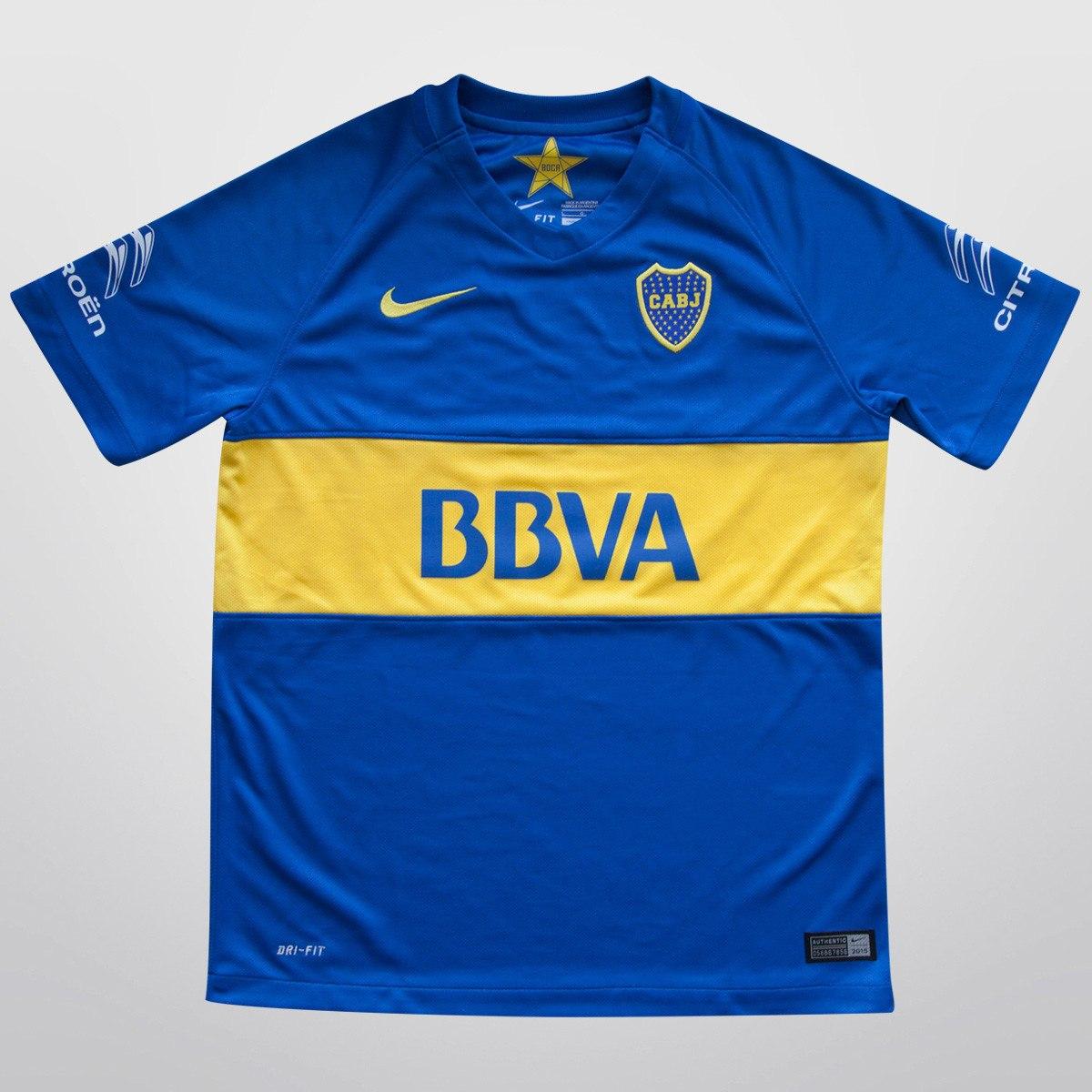 camiseta boca juniors titular 2016. Cargando zoom. 881a21bcb31af