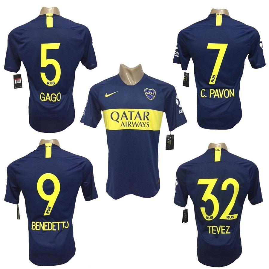 camiseta boca juniors titular 2018 2019 estampado incluido. Cargando zoom. 951705229e469