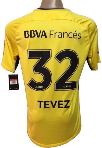 Camiseta Boca Suplente Match 2017-2018 Tevez   32 -   1.899 5295083e1d497