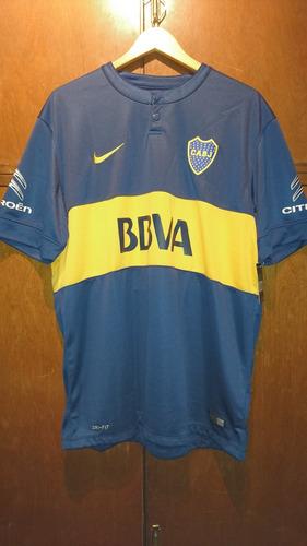 camiseta boca titular 2014/15 original nueva con etiquetas