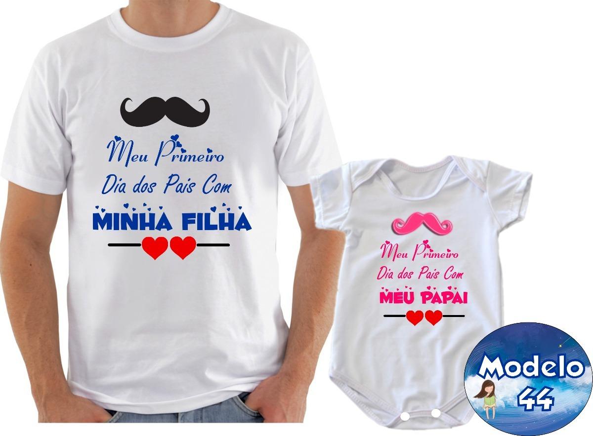Camisetabody Presente Primeiro Dia Dos Pais Com 2und R 5500 Em