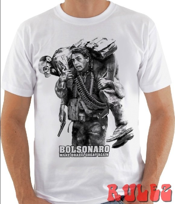 Camiseta Bolsonaro - R  25 c4ab1ba81fd