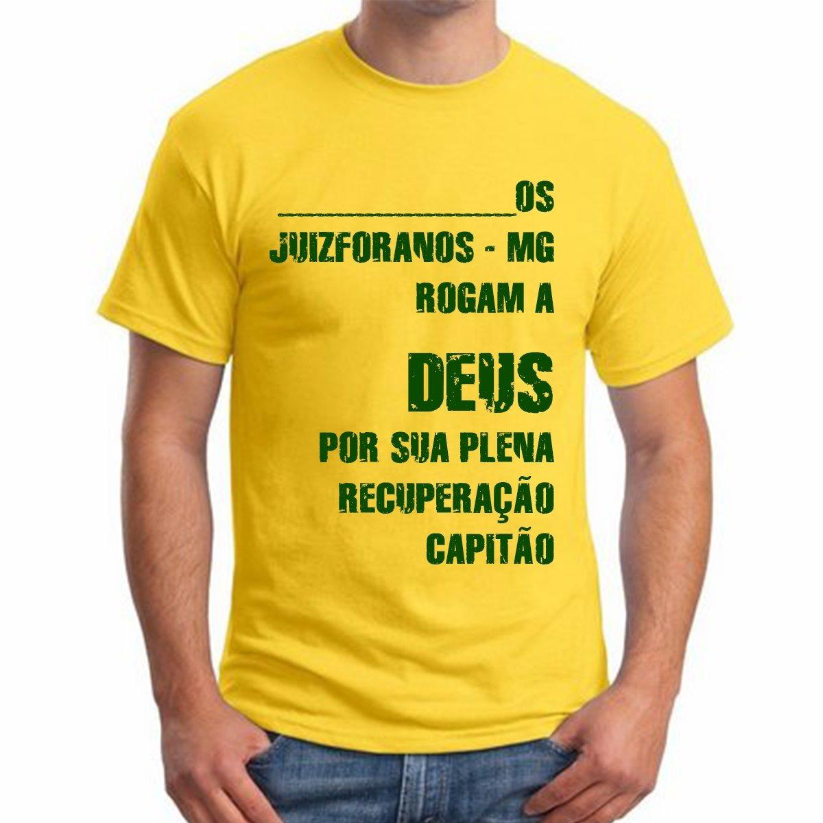 camiseta bolsonaro meu partido é o brasil camisa amarela. Carregando zoom. e87828d8b439f