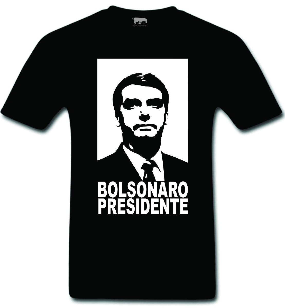 ab1b5abb2510c camiseta bolsonaro presidente melhor jair se acostumando. Carregando zoom.