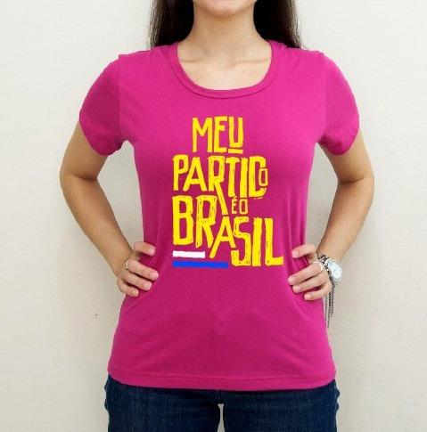 Camiseta Bolsonaro Rosa Pink Promoção! Pronta Entrega - R  43 5f47d5a030f
