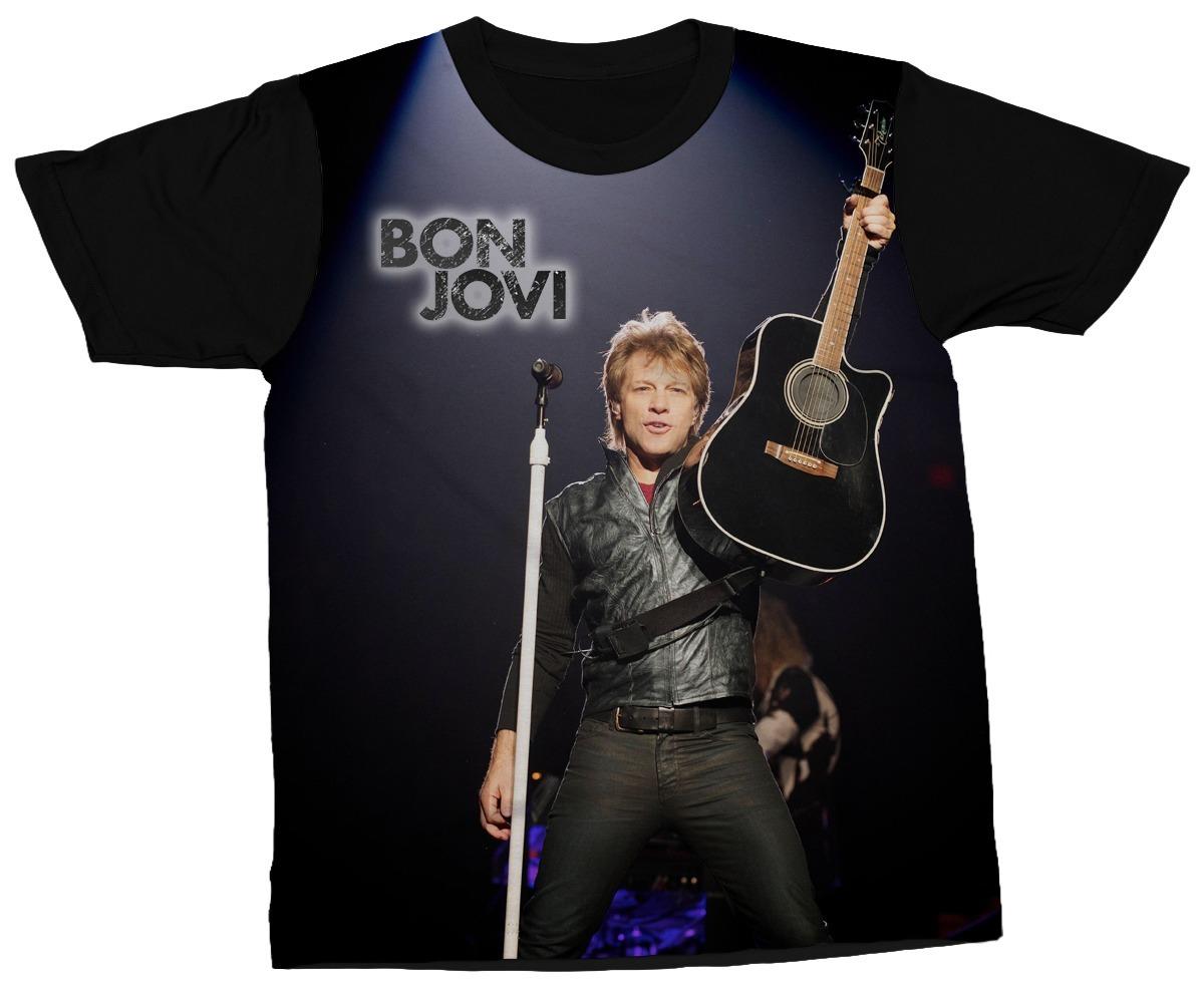 1a75e1ca2 camiseta bon jovi banda rock camisa música artista estampa. Carregando zoom.