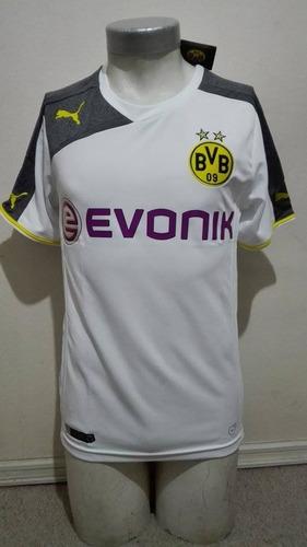 camiseta borussia dortmund 2014-2015 tercera equipación puma
