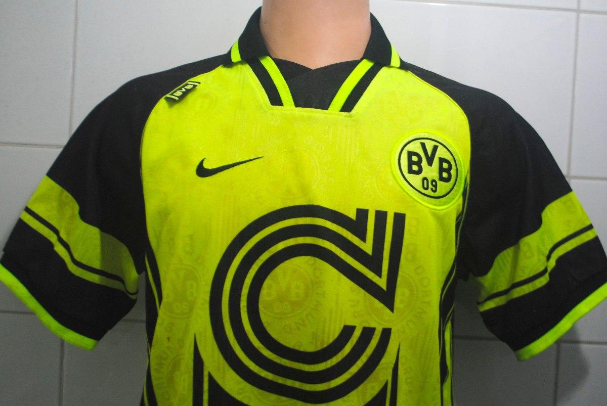 Camiseta Borussia Dortmund 1996 Nike Talla S, Envío Gratis