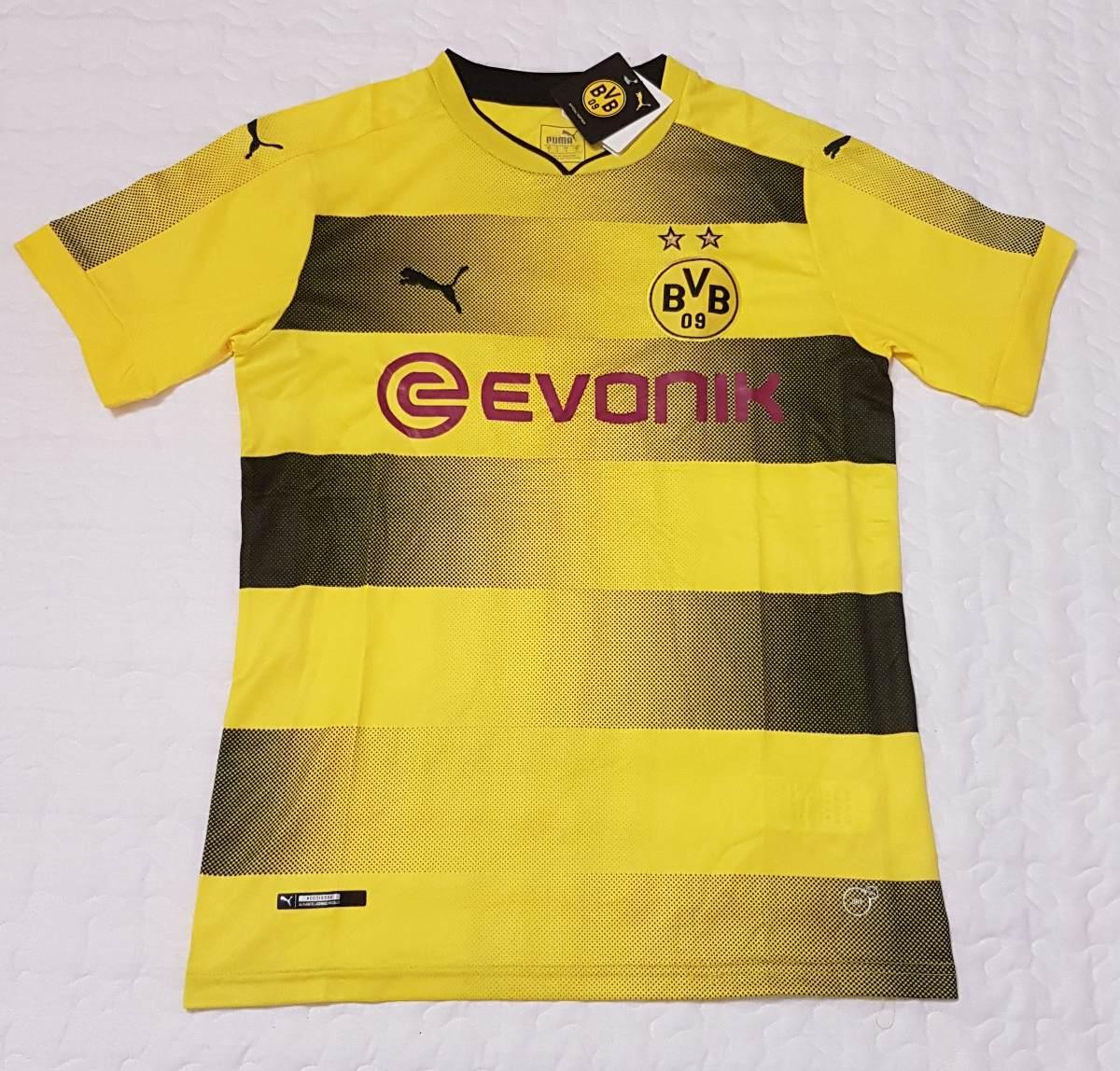 Camiseta Borussia Dortmund 2017 2018 Reus -   1.049 e95ed6a48468b