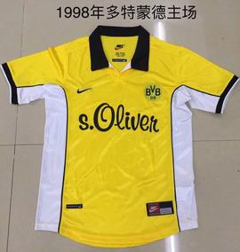 Camiseta Borussia Dortmund Retro Publicacio 1998 Leer NnOXP8w0k