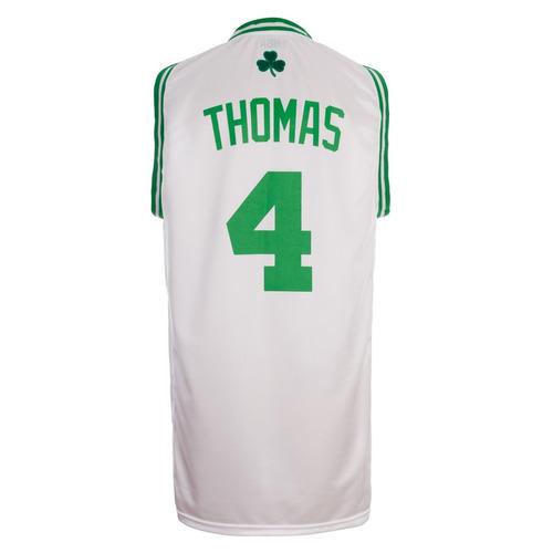 camiseta boston celtics blanca oficial thomas basket basquet