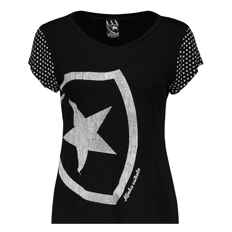 193ef18f18 camiseta botafogo escudo feminina. Carregando zoom.