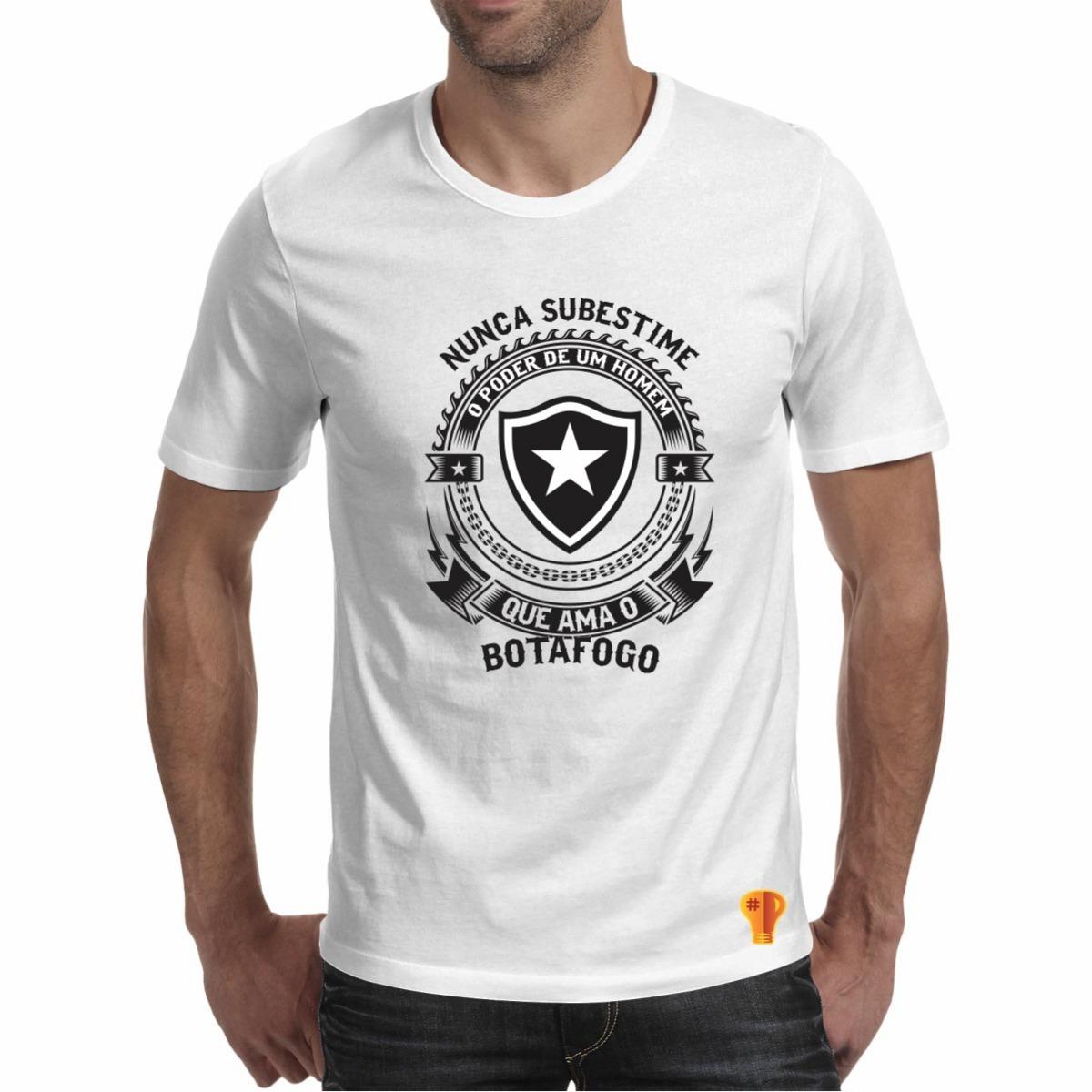 camiseta botafogo masculina nunca subestime amor time. Carregando zoom. a394b47c6e128