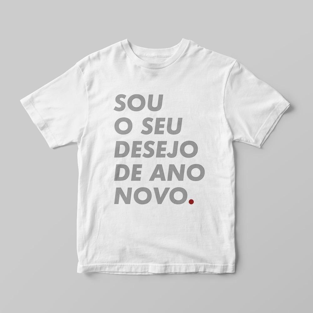 Camiseta Branca Divertida Ano Novo Reveillon Virada 2019 -17 - R  29 ... 2709d904ac