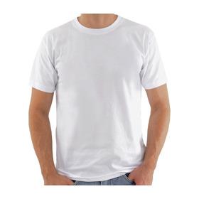 Camiseta Branca Lisa 100% Polister Para Sublimação