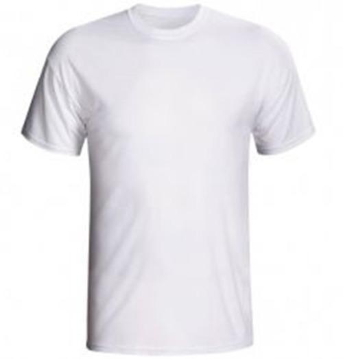 Camiseta Branca Lisa 100%algodão Gola O Ou V -atacado 10 Pcs - R ... 79460699b9c