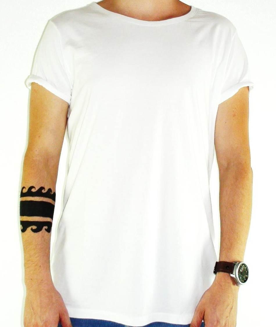 4c517153d49cd camiseta branca lisa kit c  30 fio 30 penteado 100% algodão. Carregando  zoom.