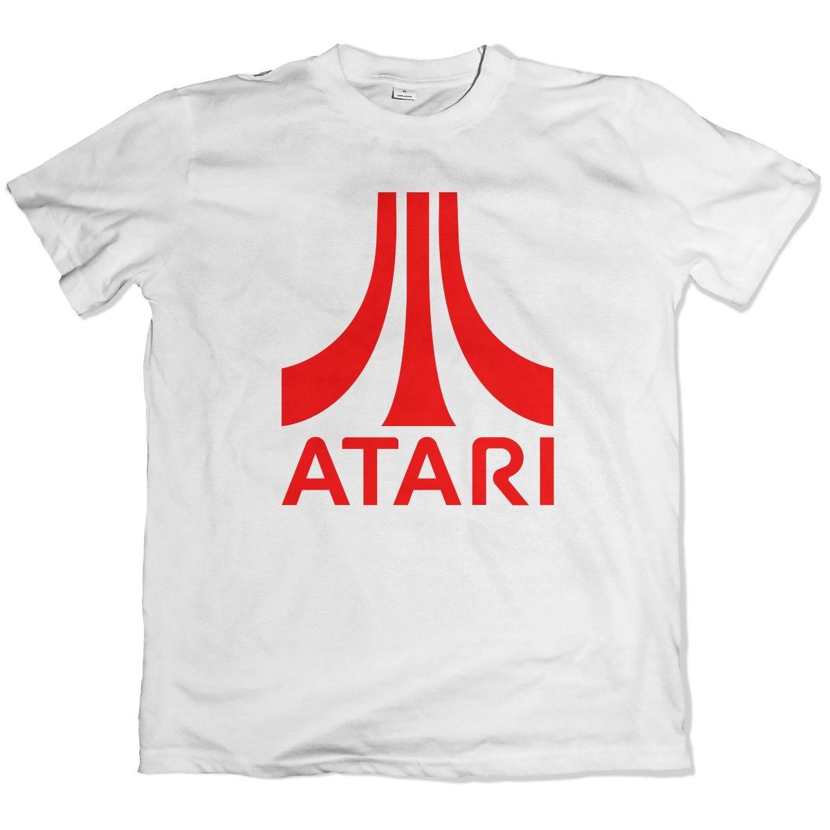 camiseta branca personalizada 100% poliester atari games 2. Carregando zoom. 663683b17ccdb