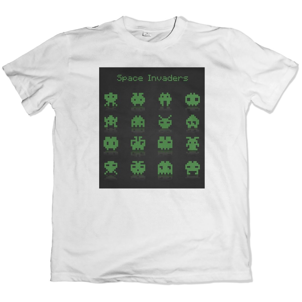 camiseta branca personalizada 100% poliester retro games 1. Carregando zoom. 542ae928ee775