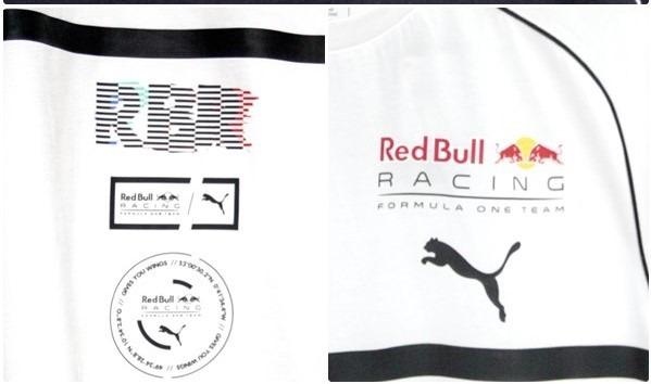 Camiseta Branca Puma Red Bull Speedcat Evo Tee - R  169 068249c140f