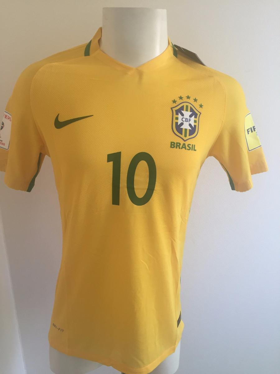 Camiseta Brasil 2016 2017 Version Jugador -   20.000 en Mercado Libre af28fef6f98b0