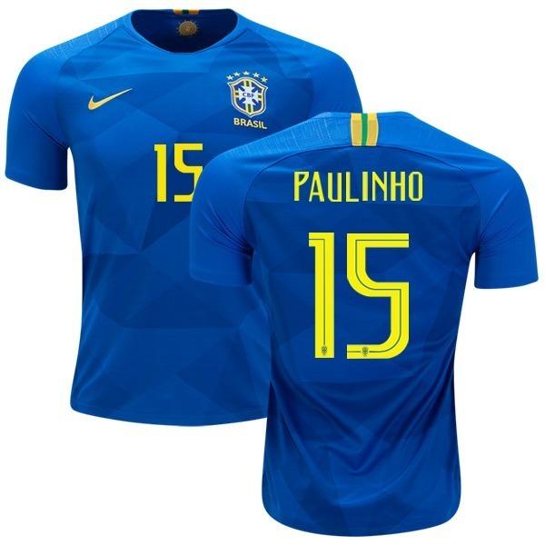 Camiseta Brasil 2018 Mundial Original Alternativa Paulinho -   1.799 ... 8b81efde1062d