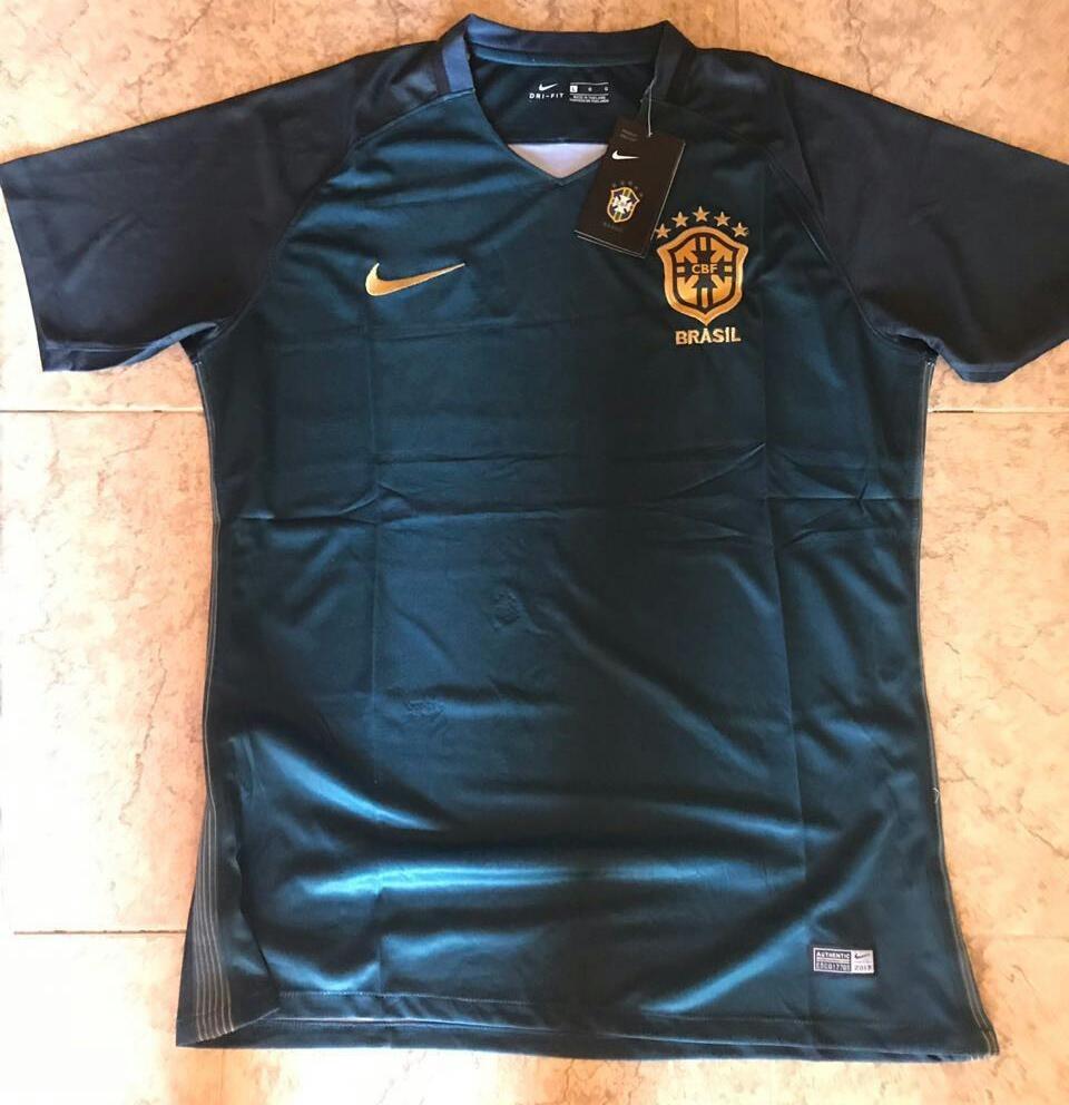 bd41e802332db5 camiseta brasil mundial 2018. titular y suplente original. Cargando zoom.