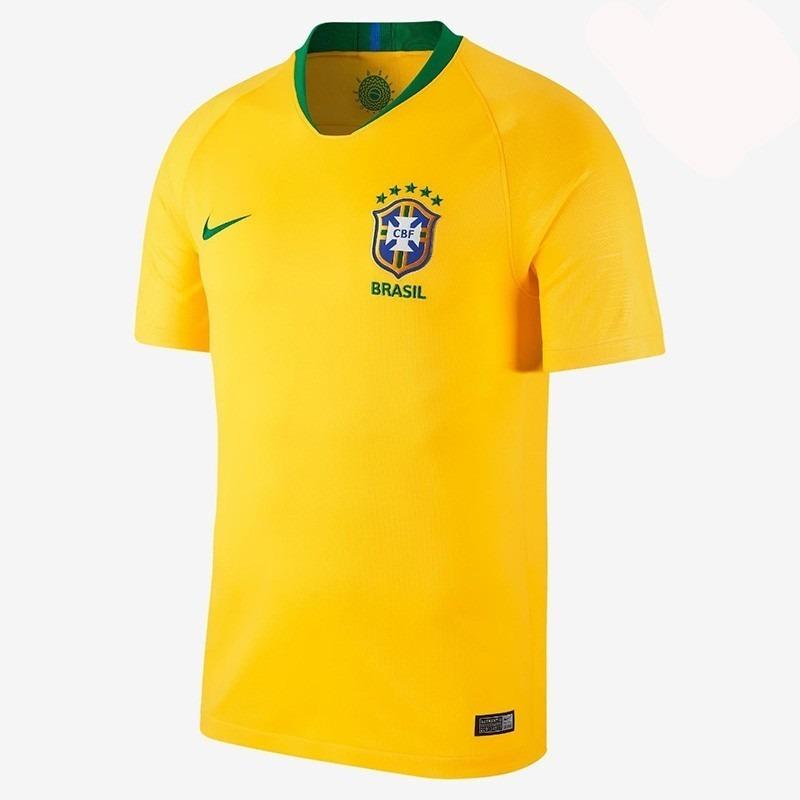 Camiseta Brasil Mundial Rusia 2018 Nike -   170.000 en Mercado Libre f14dc890a894b