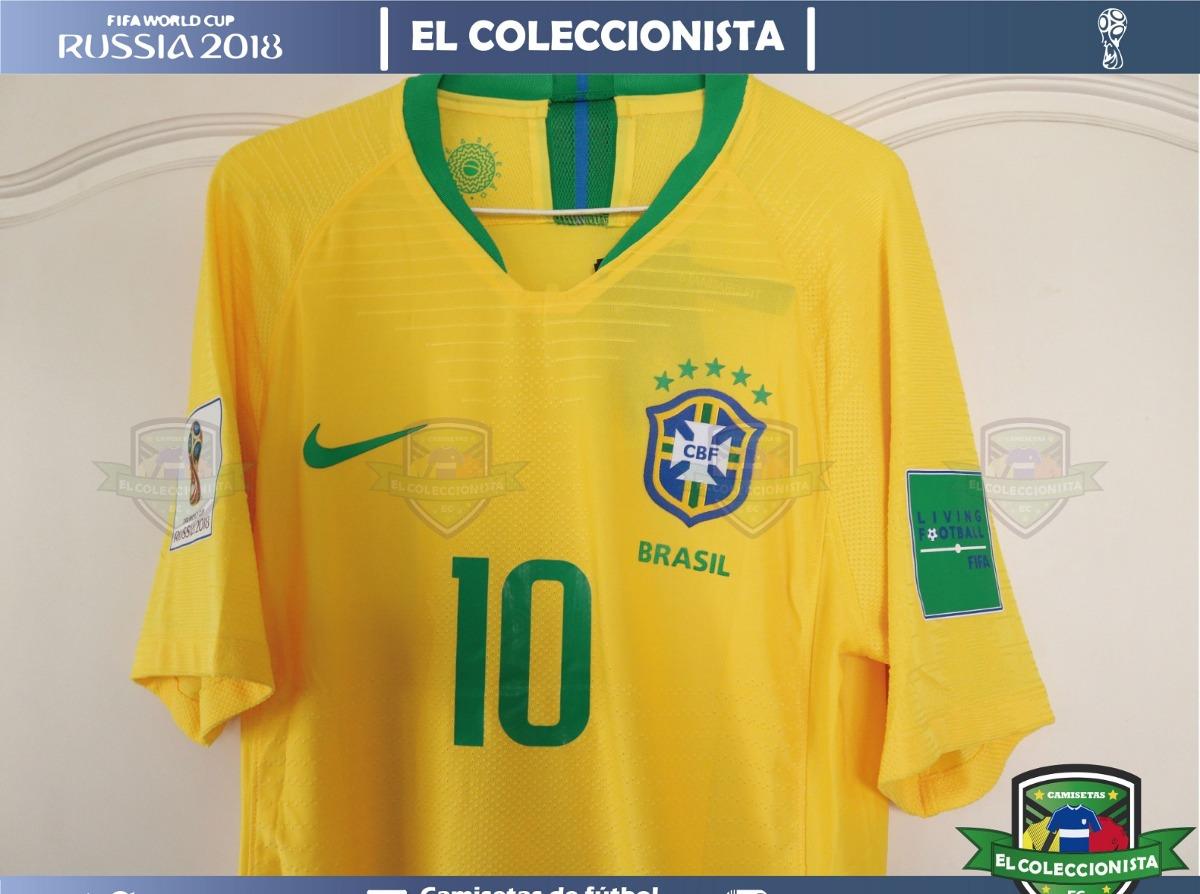 815bab4610b12 camiseta brasil nike vaporknit neymar jr mundial bajo pedido. Cargando zoom.