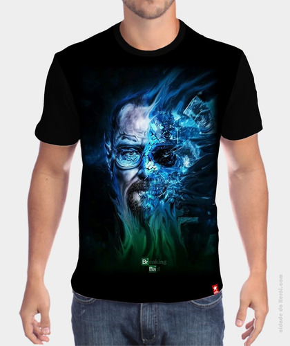 camiseta breaking bad - cidade do herói