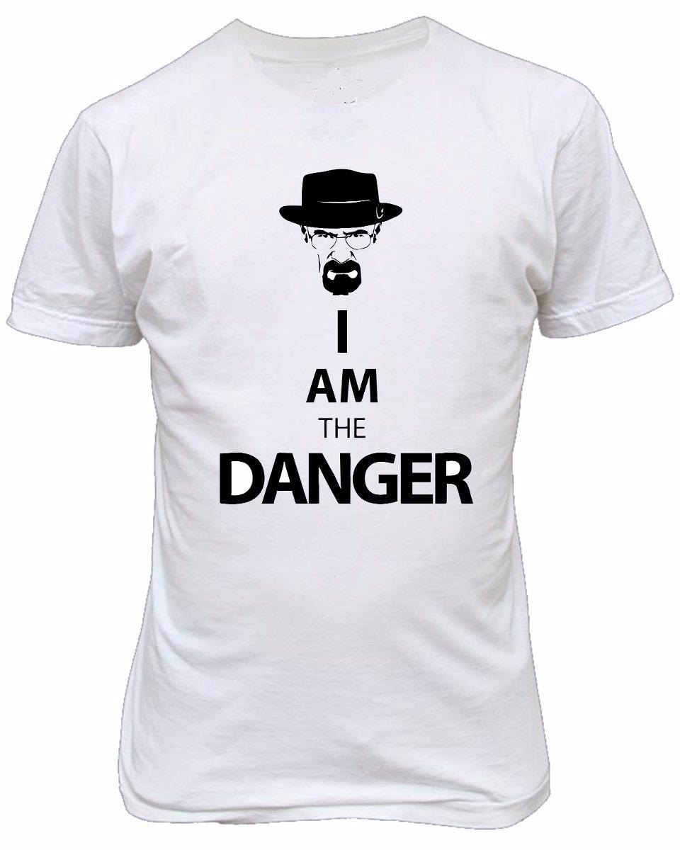 201c2df73 camiseta breaking bad heisenberg walter white i m the danger. Carregando  zoom.
