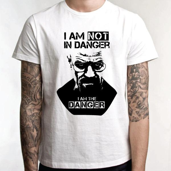 c9edc1fa1 Camiseta Breaking Bad - I Am The Danger Camisa Série - R  35