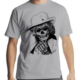 Camiseta Brian Jones - The Rolling Stones Caveira Masculina