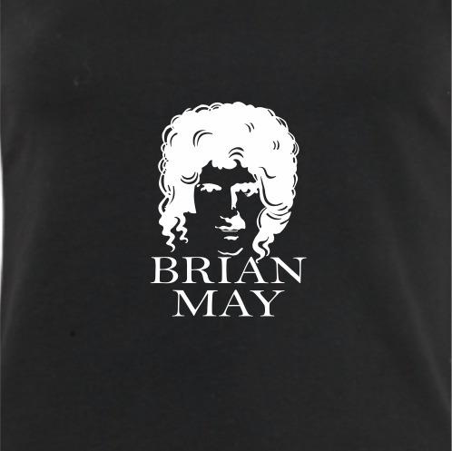 camiseta brian may queen - unissex
