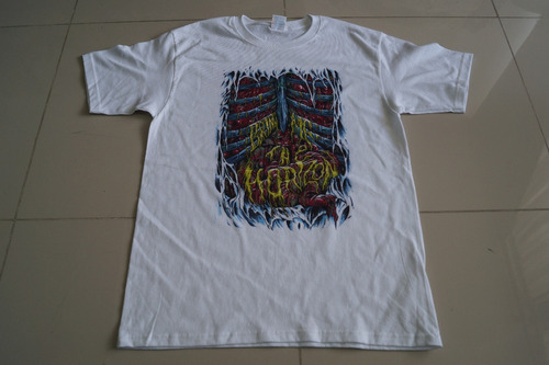camiseta bring me the horizon rock activity importad talla m