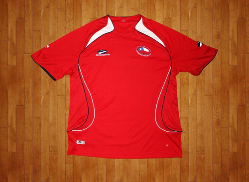 camiseta brooks chile 2007-09, talla l, usada