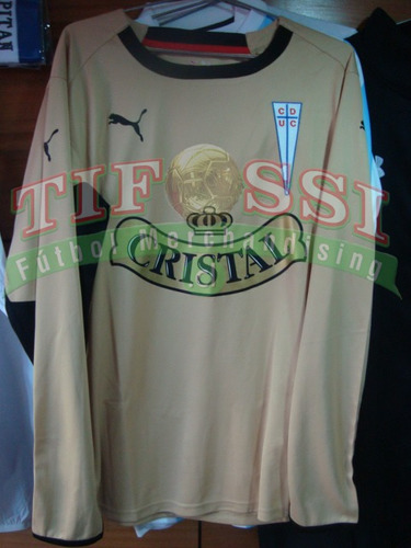 camiseta buljubasich dorada u catolica, tienda tifossi