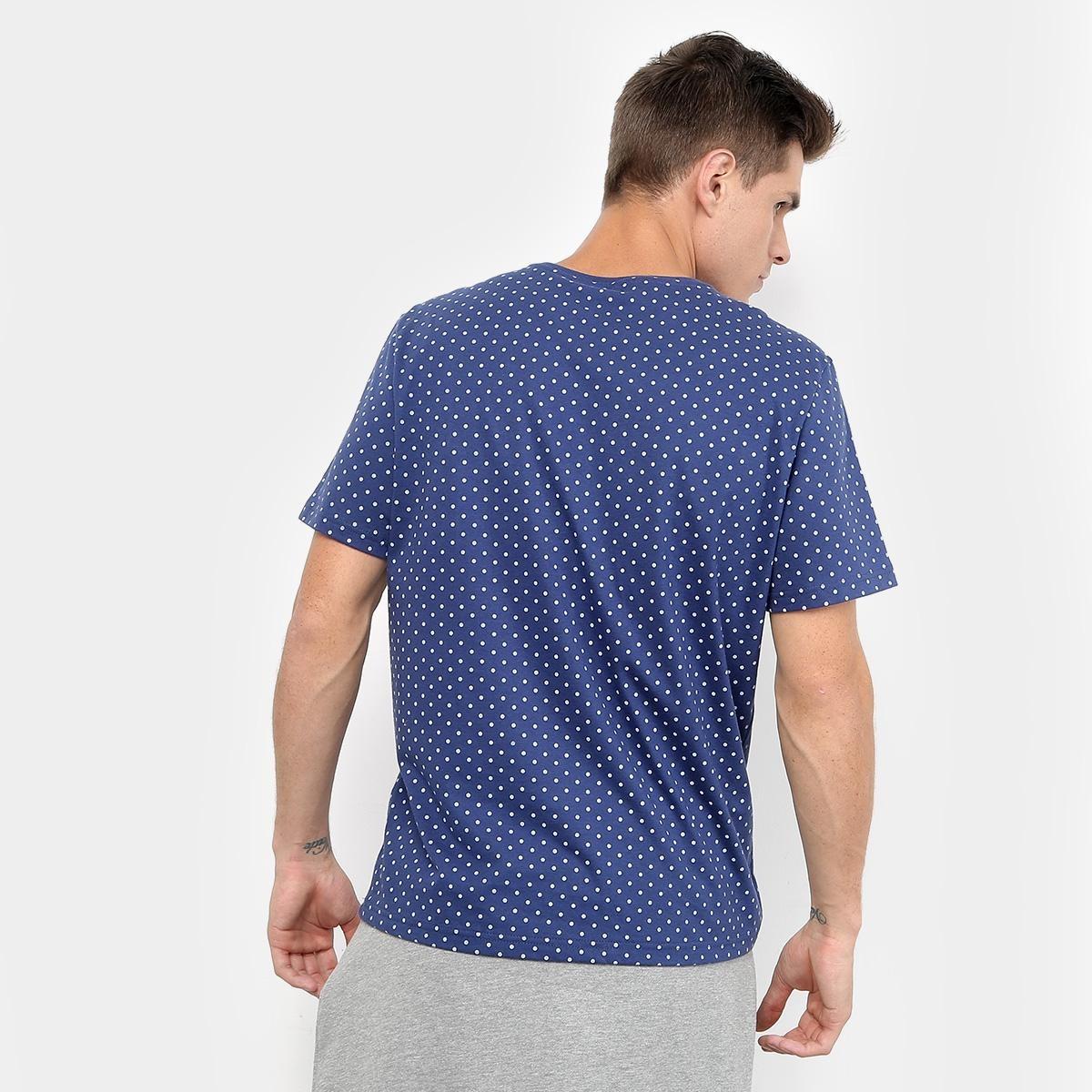 140d050cbe camiseta burn full print poá masculina. Carregando zoom.