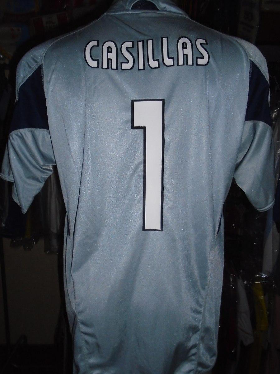 camiseta buzo arquero real madrid 2003 2004 casillas españa. Cargando zoom. ebff9979ae1e4