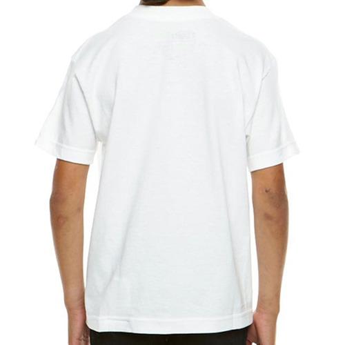 camiseta cachorro spitz branco infantil