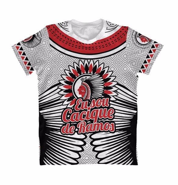 47ef08108493f Camiseta Cacique De Ramos - Cinza - Carnaval - R  79