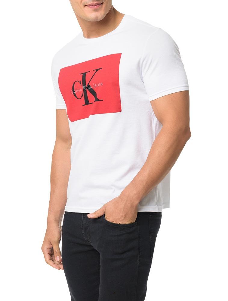 101d63ecfcae2 camiseta calvin klein. Carregando zoom.