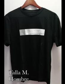 Klein Camiseta M100Original Para Calvin HombreTalla 34RL5Ajq