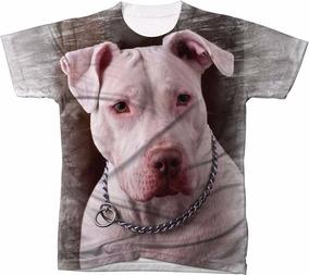 bd9fd51888 Camisetas Com Pit Bull Monster no Mercado Livre Brasil