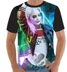 4ccfd165ea Camiseta Da Harley Quinn Camisetas Tamanho P - Camisetas e Blusas com o  Melhores Preços no Mercado Livre Brasil