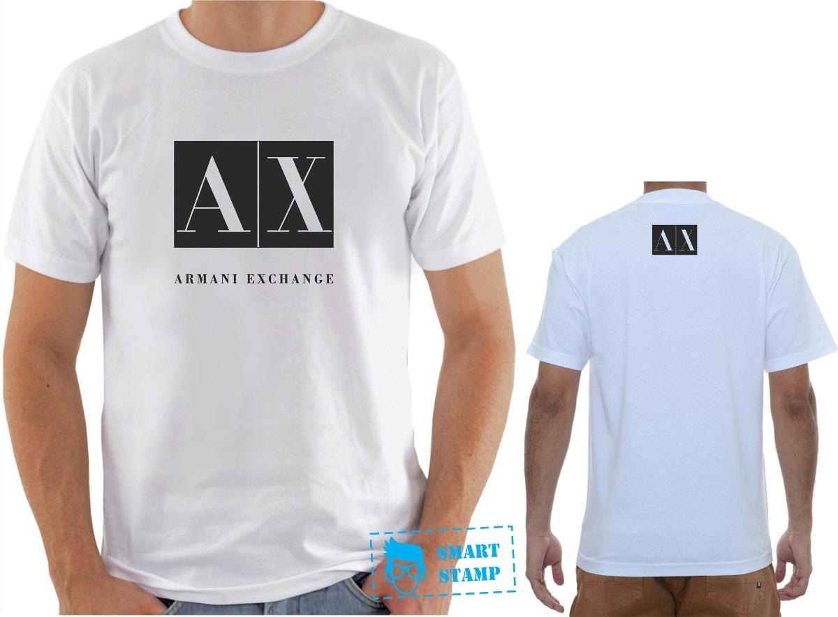 11054f3a64870 ... camisa armani emporio exchange personalizada. Carregando zoom.