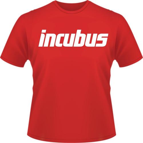 camiseta camisa banda incubus rock   alternativo
