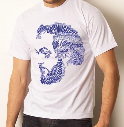 camiseta camisa básica cinema kubrick - 100% algodão