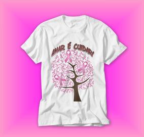 caf00acdeb Camisa Cancer De Mama - Calçados