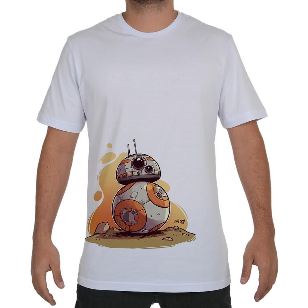 camiseta camisa blusa desenho bb8 star wars n 20 r 32 90 em